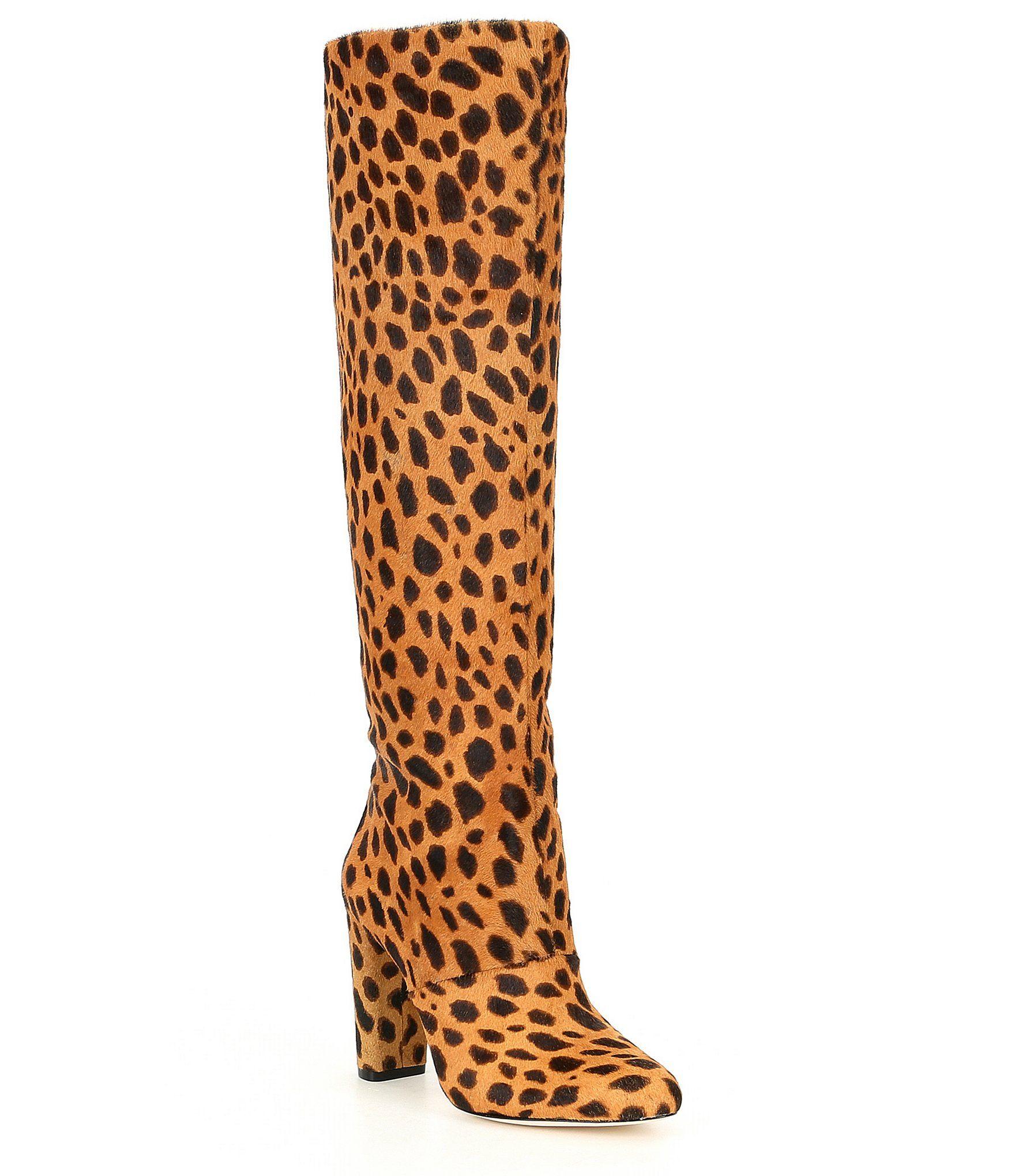 12a6ac27e Shop for Antonio Melani Calmma Leopard Print Tall Boots at Dillards.com.  Visit Dillards.com to find clothing, accessories, shoes, cosmetics & more.