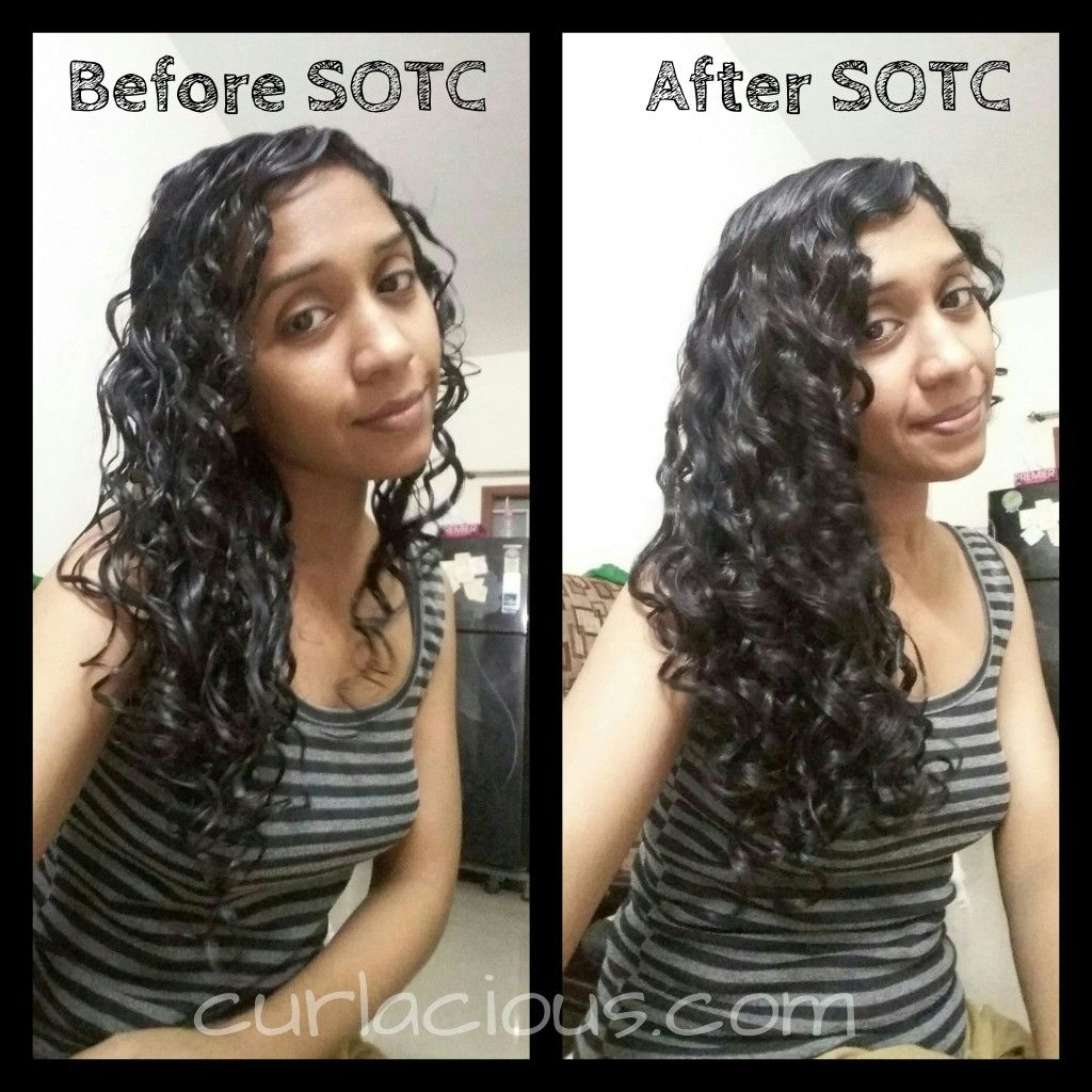 Curlacious_curly girl SOTC_Scrunching_Curly hair basics