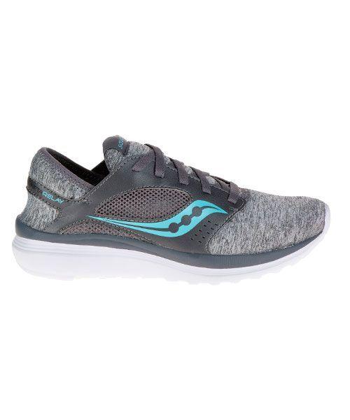 Saucony kineta relay woman gris azul s15244 10 | Zapatillas