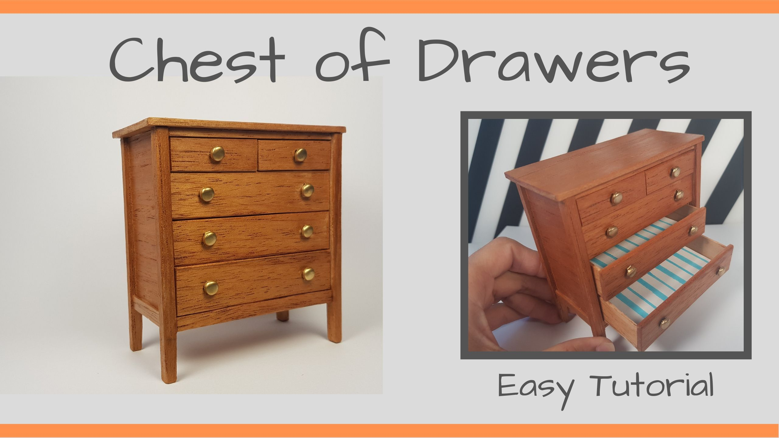 Miniature (Chest of Drawers)