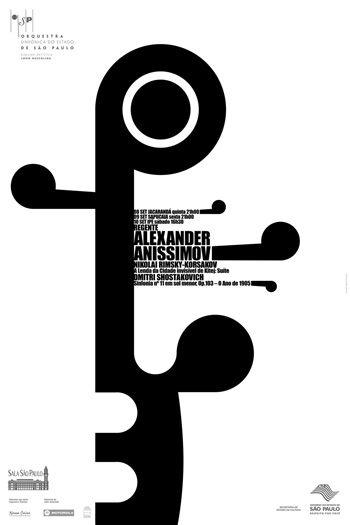 osesp 09 semana2 2005 poster by kiko farkas