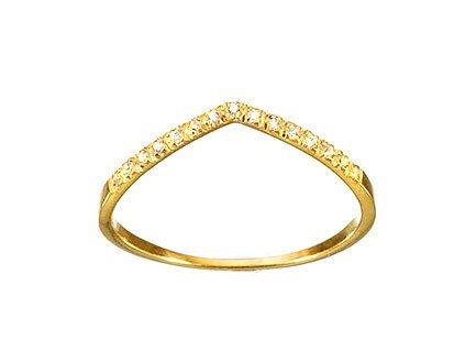 V Pave Diamond Ring 14k Diamond Wedding Band by TujFinejewelry