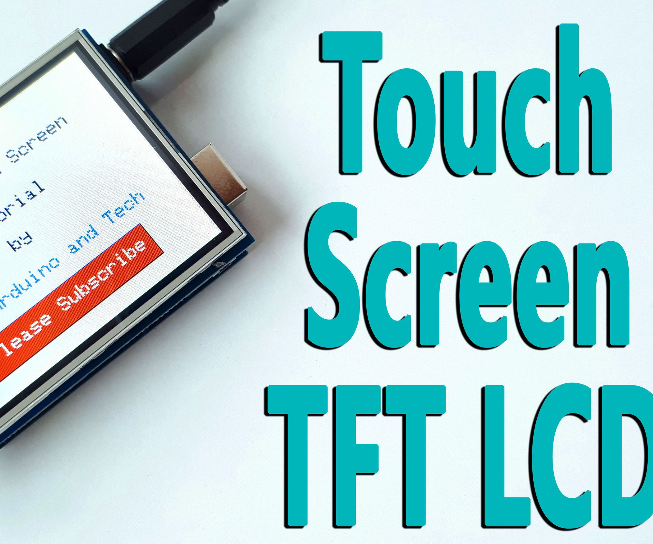 Arduino Touch Screen Tft Lcd Tutorial First Review Before The