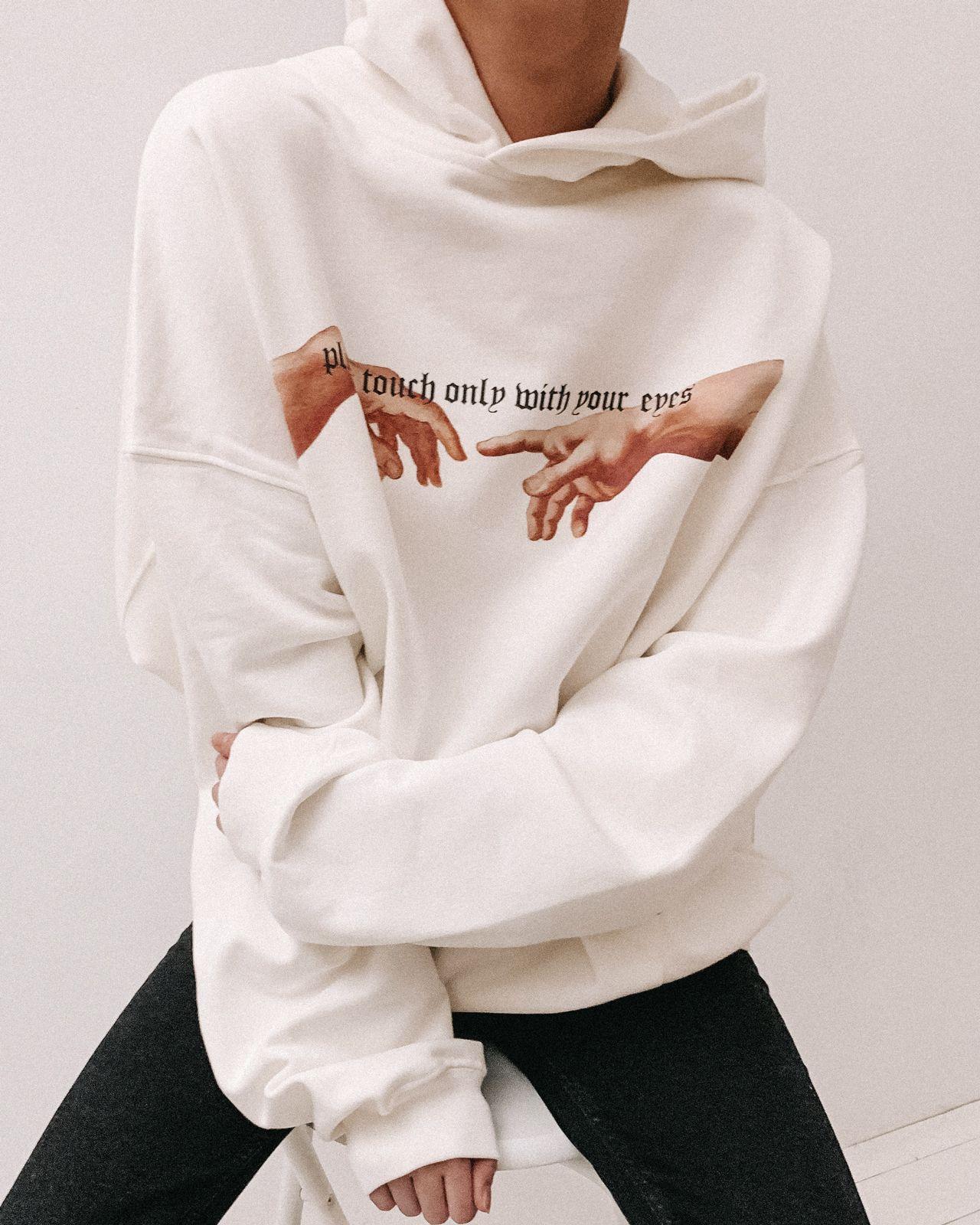 Only Hoodie Off White Women Sweatshirts Hoodies Top Clothing Wrstbhvr Us Sweatshirts T Shirt Over Hoodie Long Sleeve Hoodie [ 1600 x 1280 Pixel ]