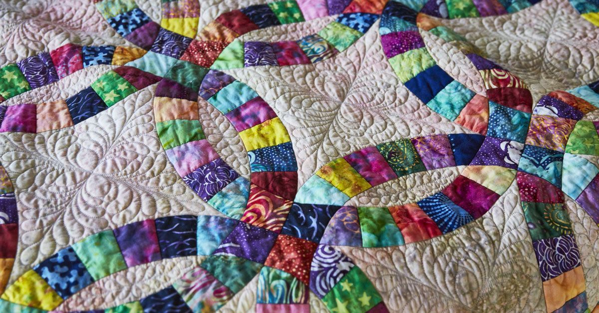 Double Wedding Ring Get Prepped Get Piecing Wedding Ring Quilt Wedding Ring Quilt Kit Beginner Quilt Patterns