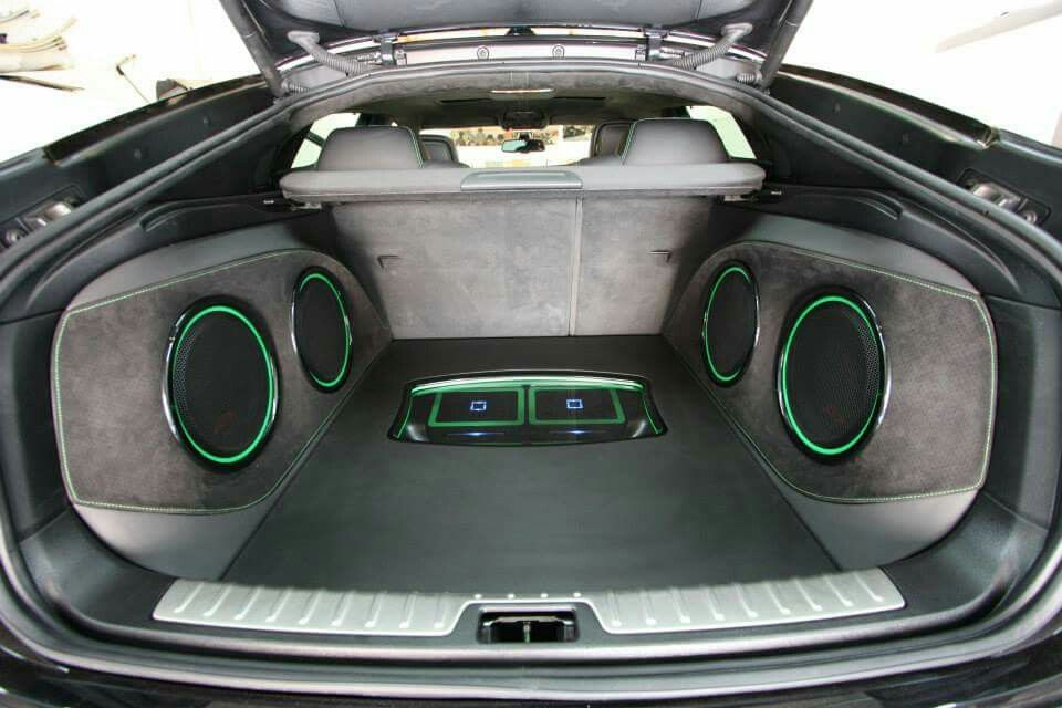 Alpine Boot Build By Define Concepts Car Stereos Pinterest