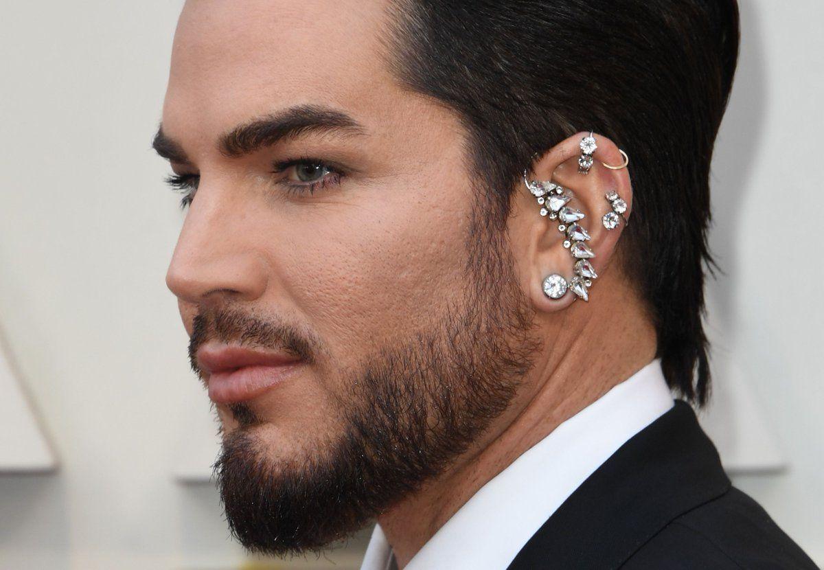 Adam Lambert Adam Lambert Details Oscars Adam Lambert Diamond