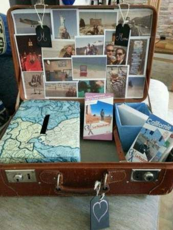 Je veux une urne de mariage originale : 40 idées repérées sur Pinterest