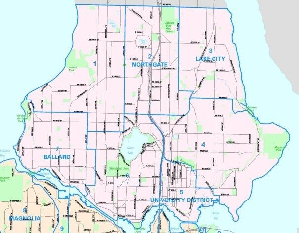 North Seattle Map | Seattle Washington Informational Maps in 2019