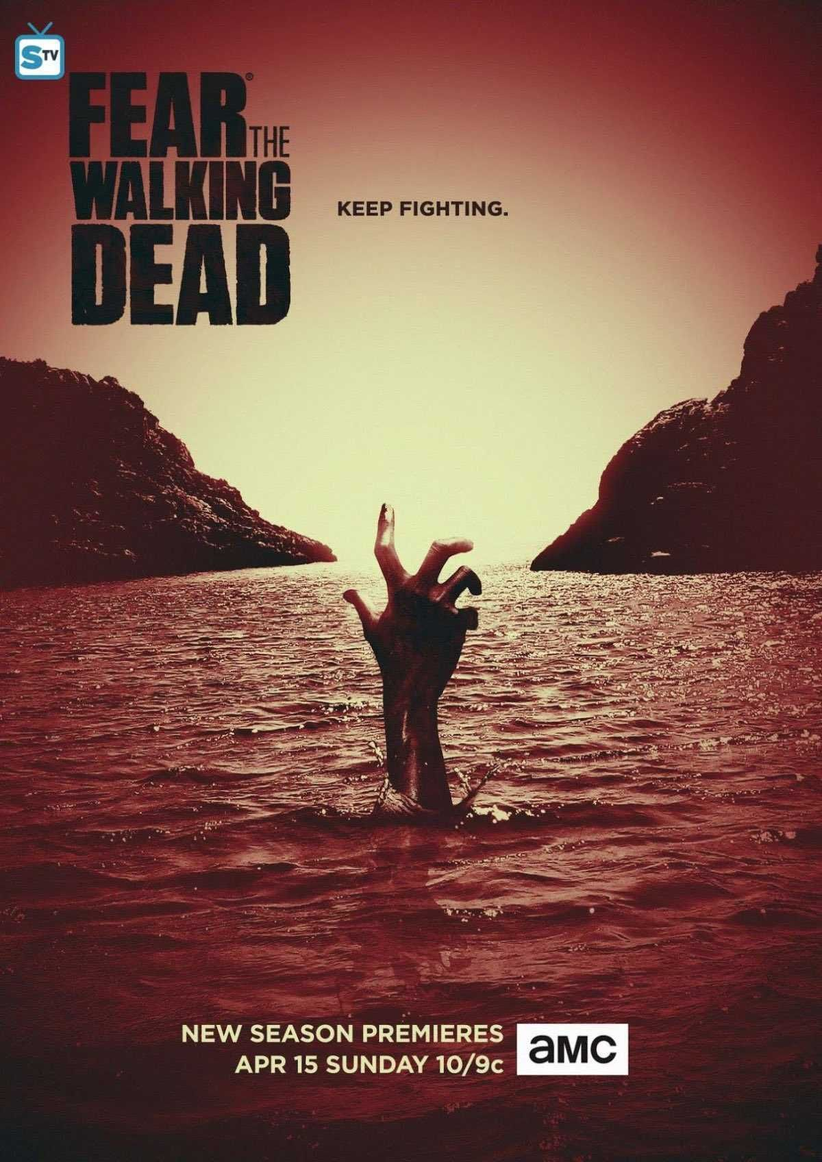 FEAR THE WALKING DEAD #AMC revela el primer póster de la cuarta ...