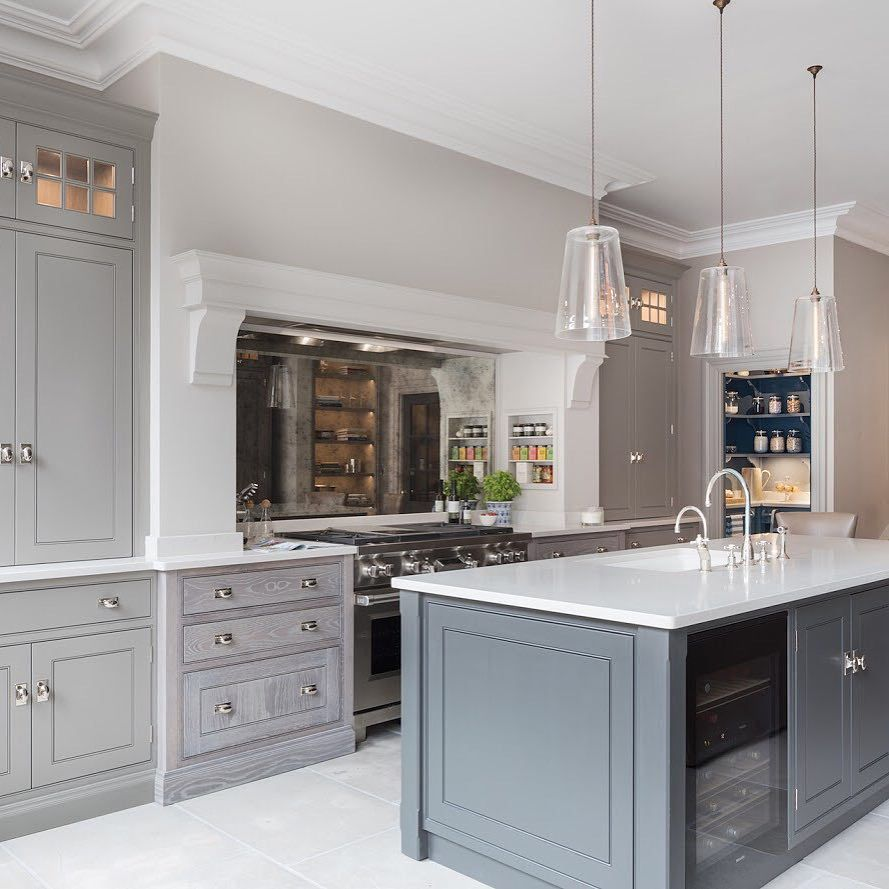 Cool Calm And Functional Kitchen: Pin By Janet Lohman On Kitchen, Pantry, Butlers 2 In 2019