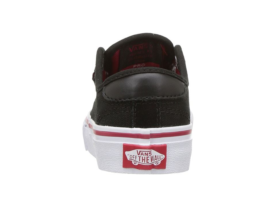 a2d177e92a Vans Kids Chima Ferguson Pro (Little Kid Big Kid) Boys Shoes Black White Chili  Pepper