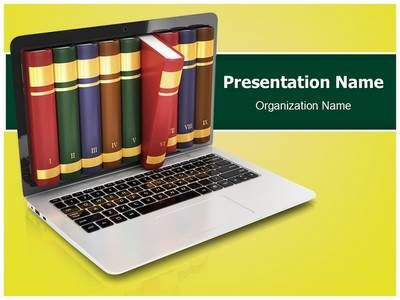 online library powerpoint template is one of the best powerpoint, Presentation templates