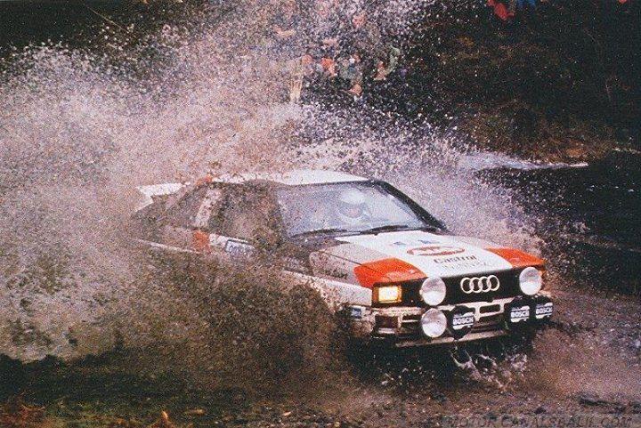 ra Michèle Mouton - Fabrizia Pons-31º Lombard RAC Rally 1982. Audi Quattro. Clasificada 2ª.