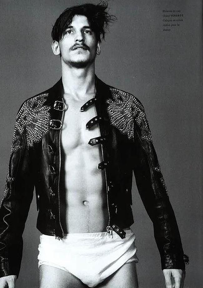 Vogue Hommes International Exposes Jarrod Scott's