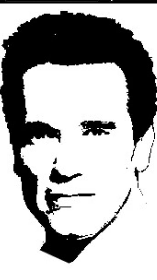 Arnold Schwarzenegger | Famous stensil | Scroll saw ...