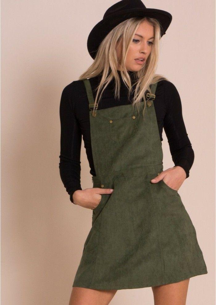 81fa38adb8e Comment porter la robe salopette  Les meilleures idées de tenues ...