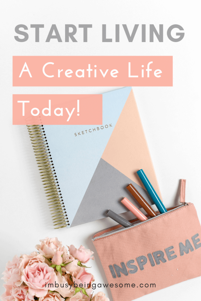 Are you looking to live a more creative lifestyle? Do you want some creative inspiration? Are you looking for tips on how to be more creative in thinking? Then click through to this article filled with strategies for how to increase artistic creativity whether you're a writer, a visual artist, a painter, a musician, or actor. Learn how to embrace fear and creativity and find ways to get creative today!