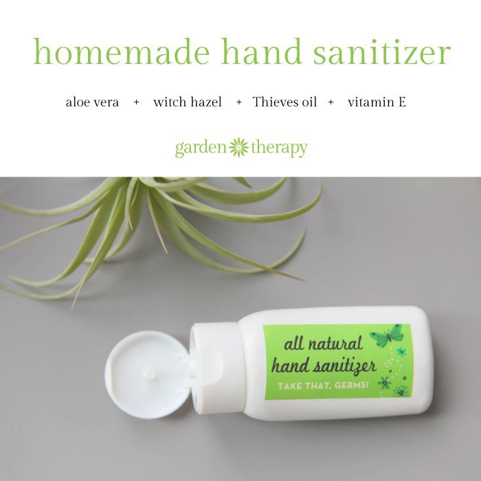 All Natural Hand Sanitizer Recipe With Thieves Oil Hand