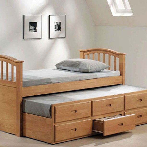 Jason Twin Trundle Bed In Maple Available Online And In Store