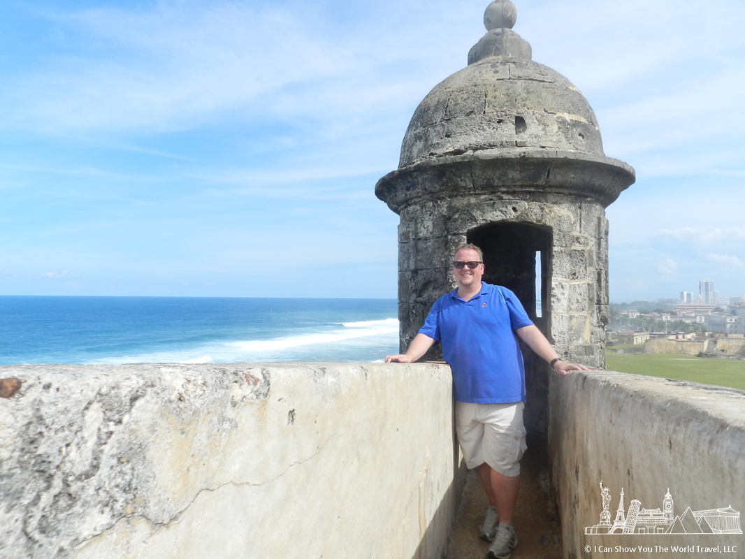 At Castillo San Cristobal, San Juan, Puerto Rico
