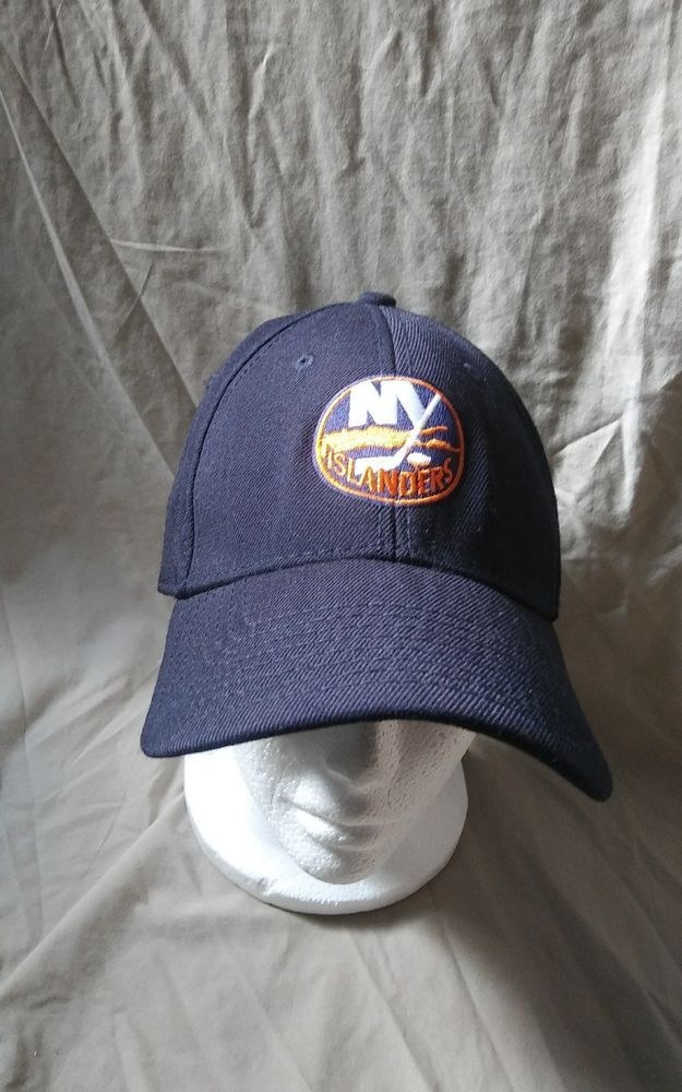 b24823d4adcbd8 NHL New York Islanders Embroidered Baseball Cap Fitted Size Medium Large |  Clothing, Shoes & Accessories, Men's Accessories, Hats | eBay!