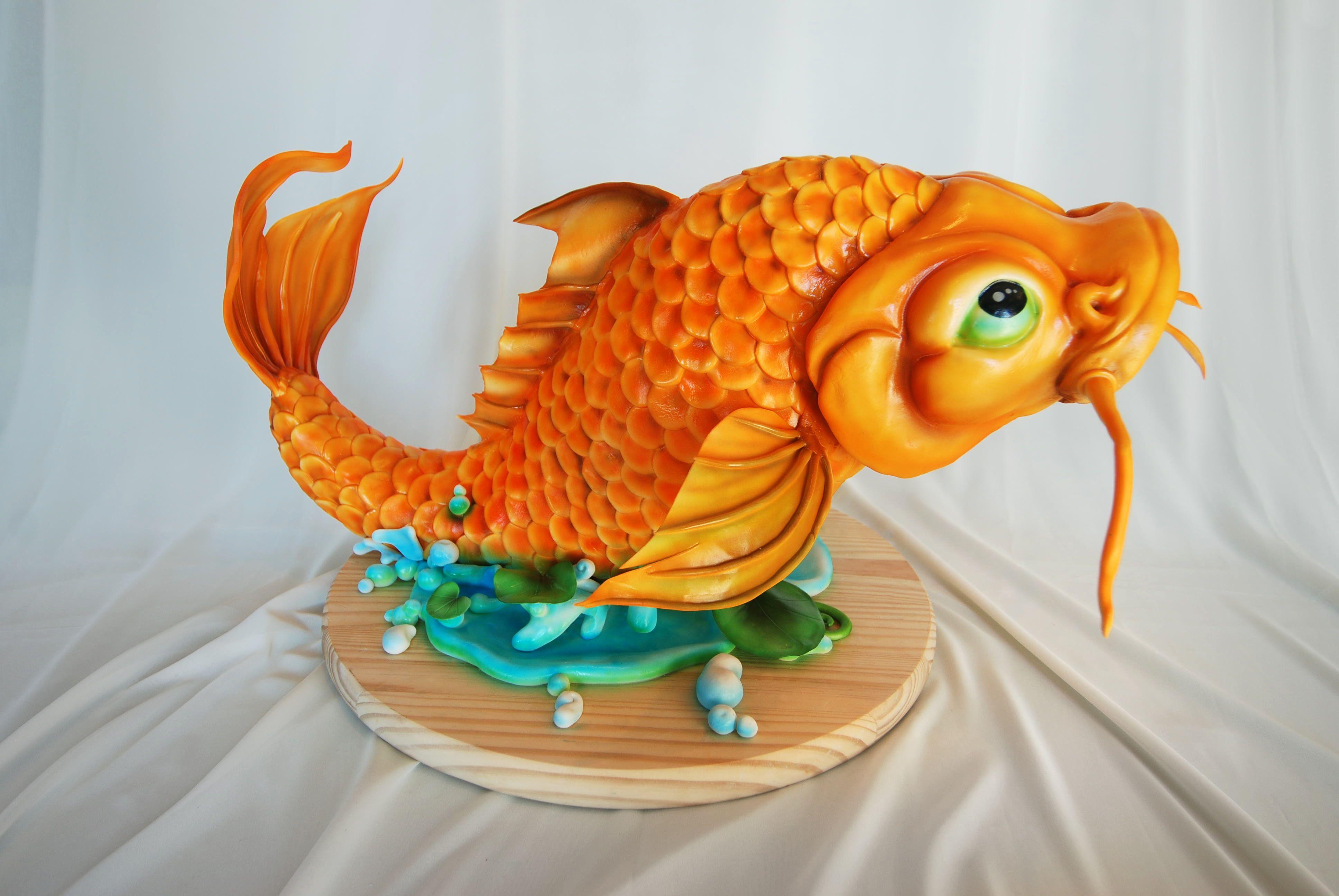 названию фото торт рыба из сливок курильского