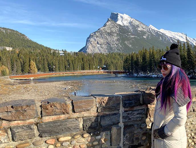 Banff, Alberta fashion blogger winter getaway! Block