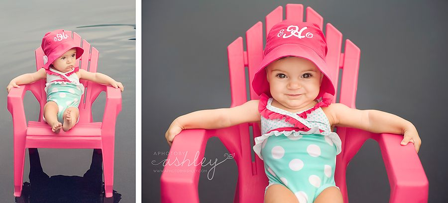 175d50a6da1a8 6 Month Old Photo Session - Summer Swimsuit | ✪ Photography ...