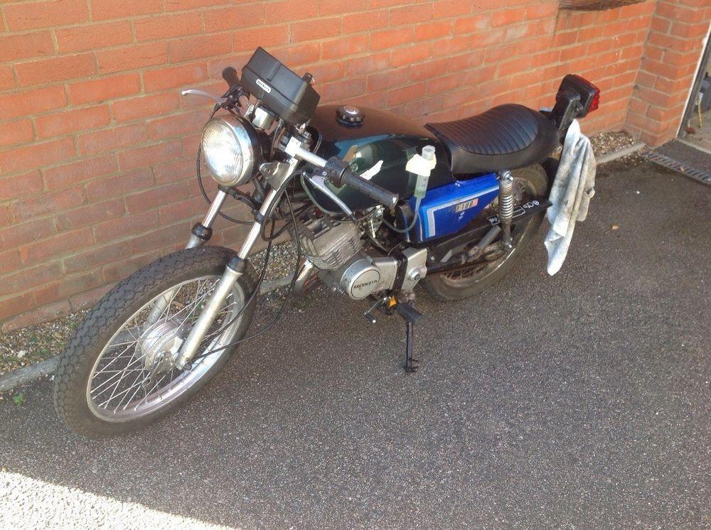 Honda h100 cafe racer | Modified Motorbikes | Motorbikes, Motorcycle