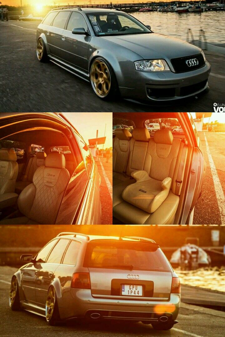 Audi Rs6 C5 Avant With Rad48 Wheels Cars Mods Audi Audi Allroad