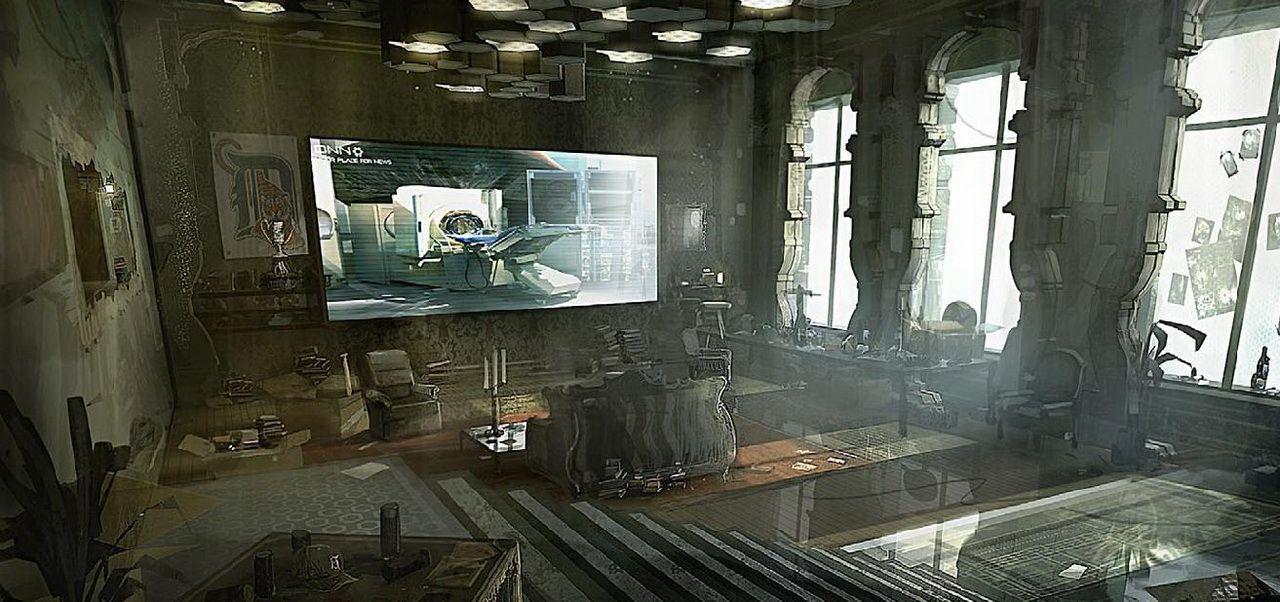 Deus Ex Human Revolution Adam Jensen S Apartment