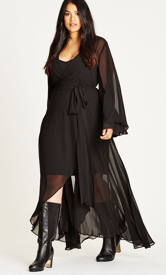 Channel some serious stevie nicks action in the fleetwood maxi dress