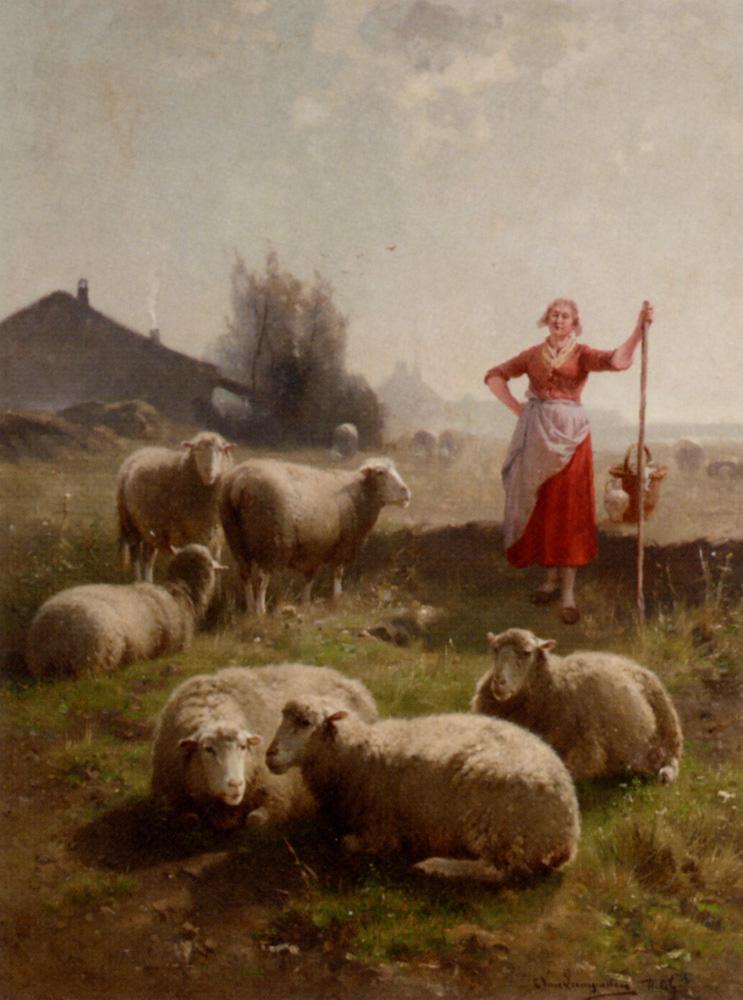 Картинки пастухов и пастушек