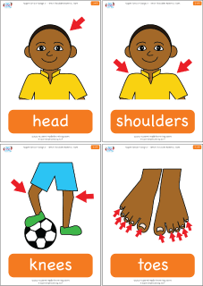 Head Shoulders Knees & Toes (Learn It | Speech Path  | Head