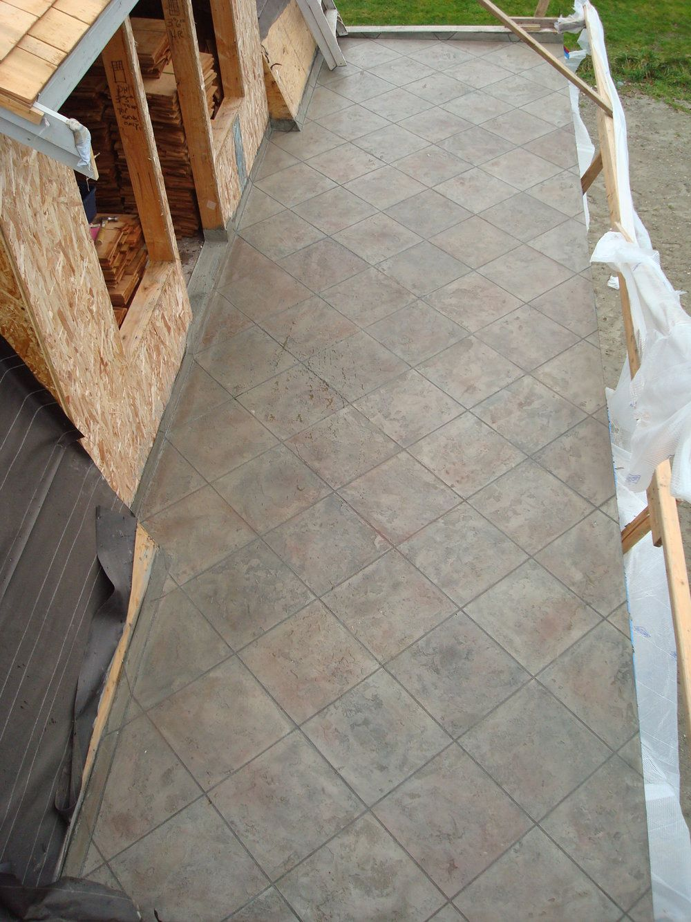 how to waterproof plywood deck