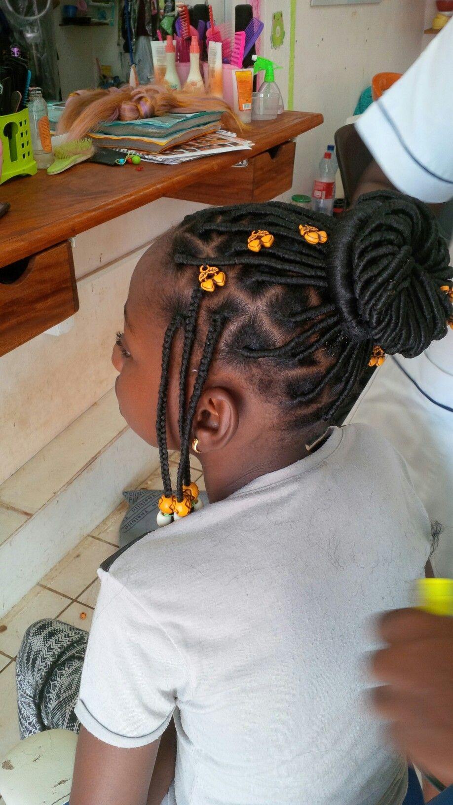 Epingle Sur Tresses Afro