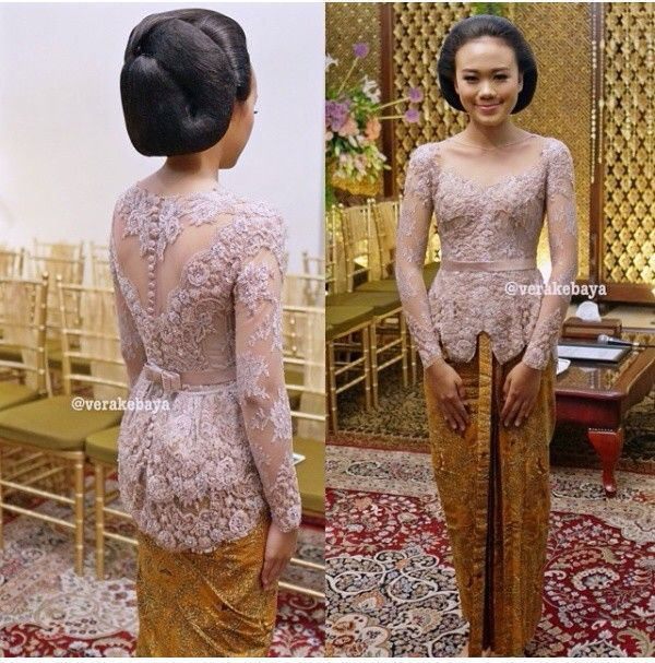 Vera Kebaya 2 Warna Pictures Wedding Pinterest