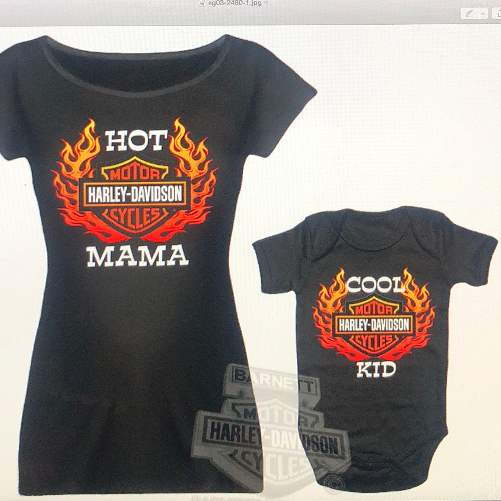298142bca841 Cool item  H-D Baby Mommy   Me Maternity Set L