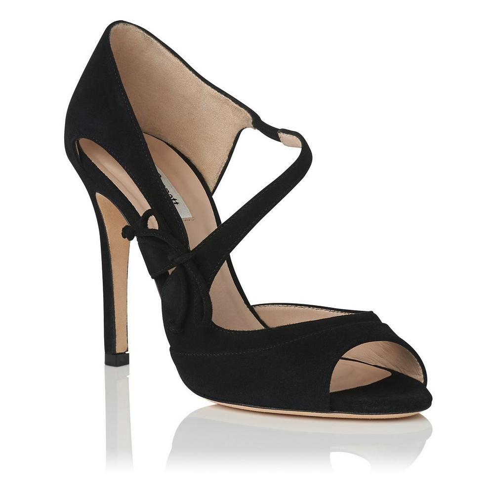 Lucile Black Suede Court Shoes | Sandals | Shoes | Collections | L.K.Bennett,  London