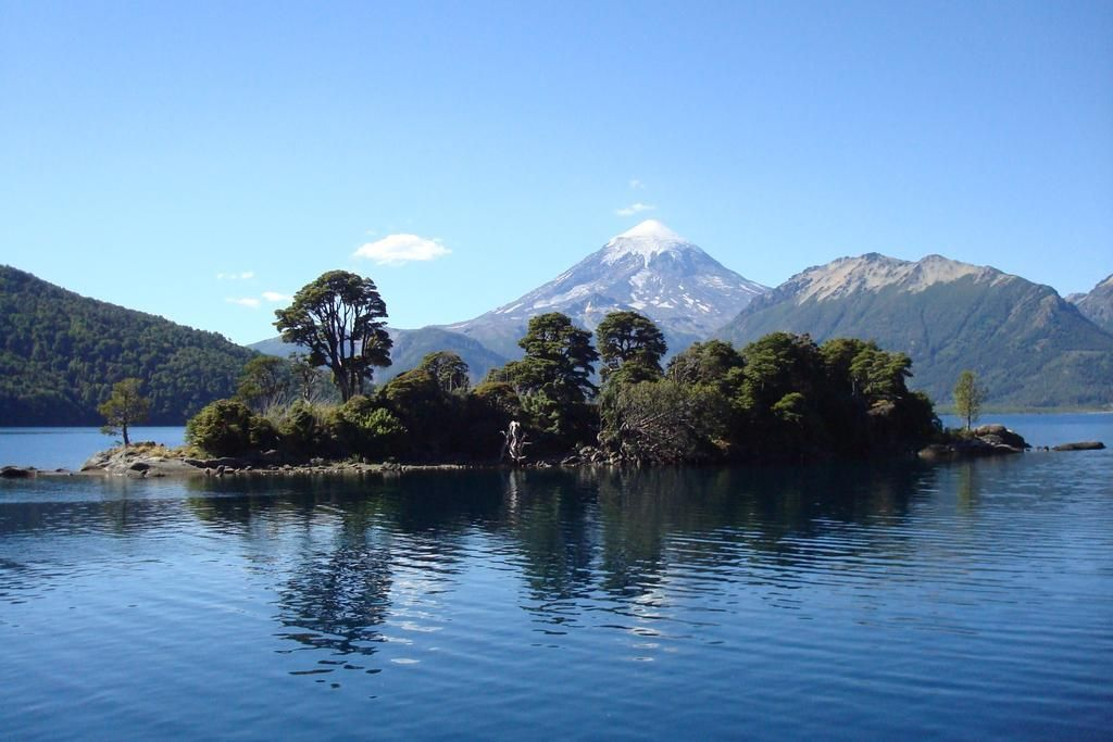 Volcan Lanin #chile #vacation #travel #amazing #nature