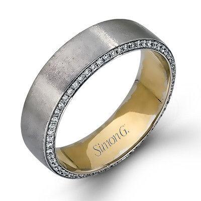 mens wedding bands w diamonds on side Google Search Wedding