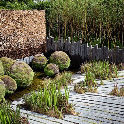 Un jardin presque sans entretien pour la maison jardin contemporain jardins et amenagement - Jardins sans entretien ...