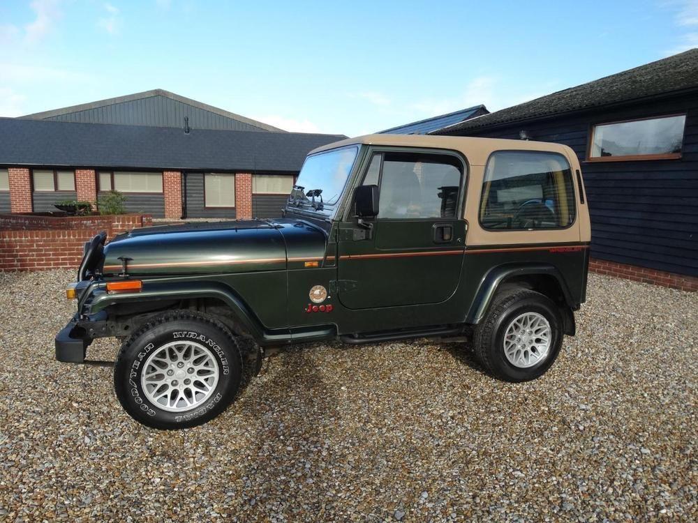 EBay: 1995 JEEP WRANGLER 4.0 Sahara Auto
