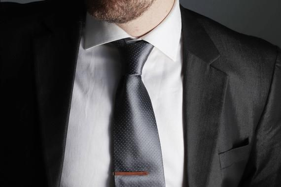 bdfb3818c14a Tie Clip Wedding, Tie clip personalize, Grooms Tie Clip, Custom tie clip,  Monogram Tie Bar, Personal