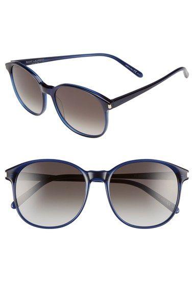 Saint Laurent 55mm Retro Sunglasses
