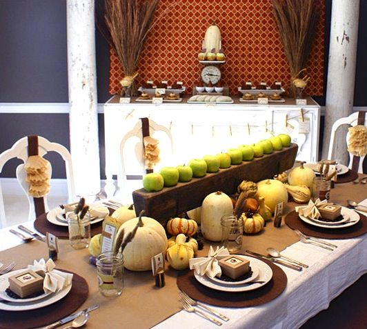 Get cozy with this #Thanksgiving table setting from #IKEA ...