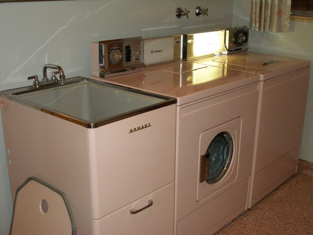 Getting A Vintage Homart Laundry Sink Exactly Like This One So Cute Vintage Laundry Room Decor Vintage Laundry Vintage Laundry Room