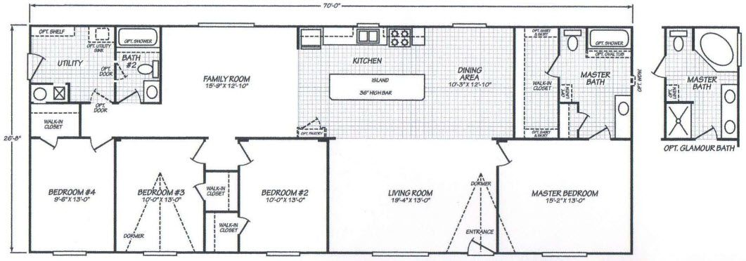 1996 Fleetwood Mobile Home Floor Plans