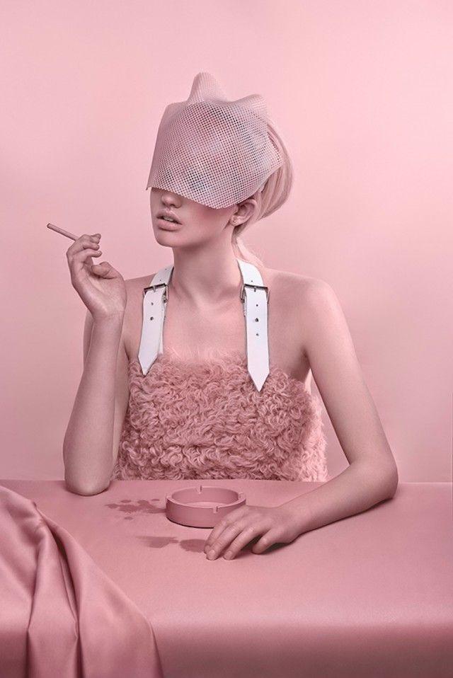 Pink Monochromatic Sceneries #artdirection